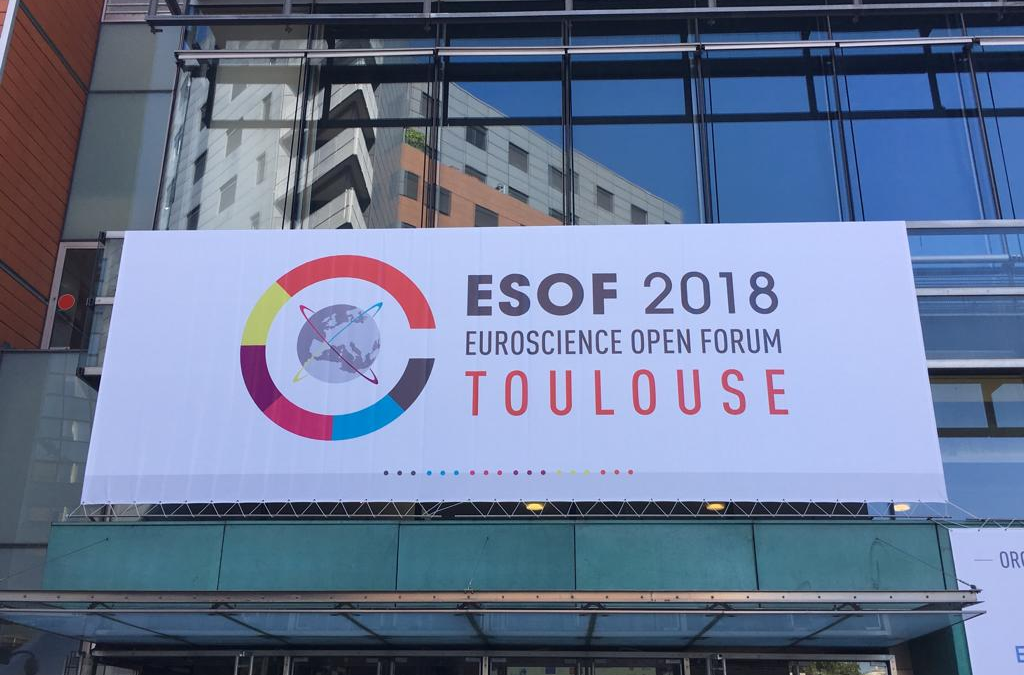 Next-CSP exhibited at the ESOF science popularization event in Toulouse