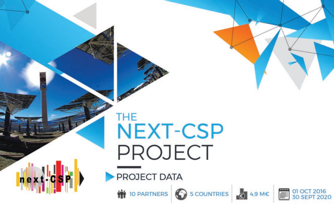 Communication material: Check out the new Next-CSP project flyer!