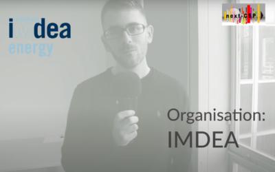 Meet the team: a video interview with Next-CSP partner IMDEA
