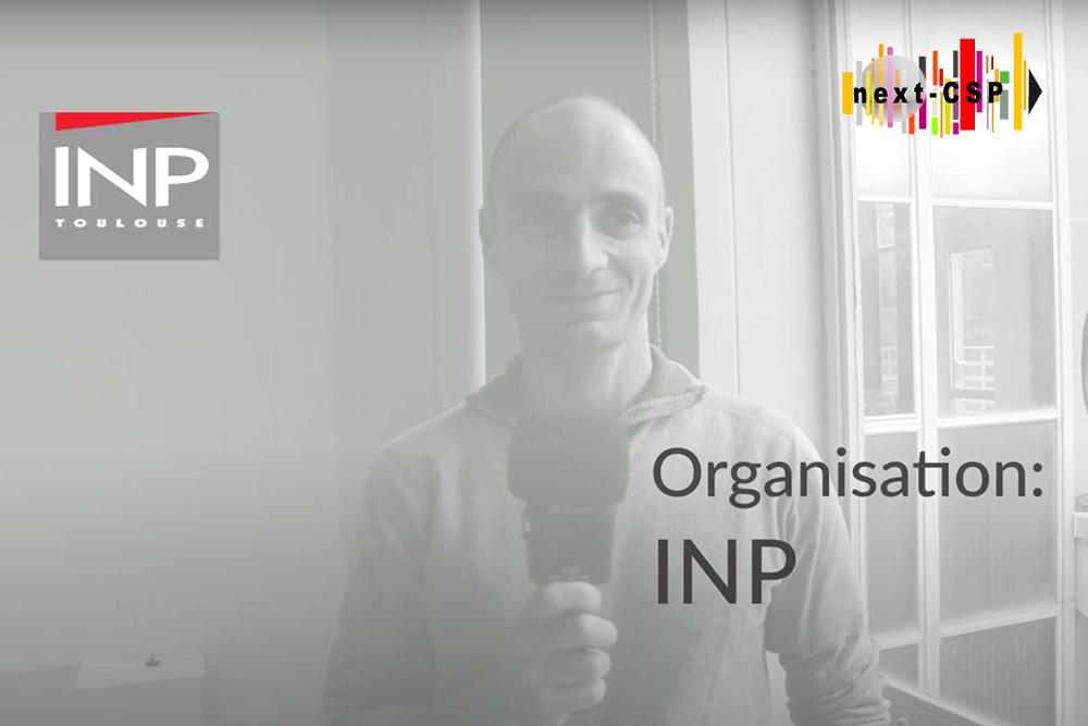 Meet the team: an interview with Next-CSP partner INP Toulouse